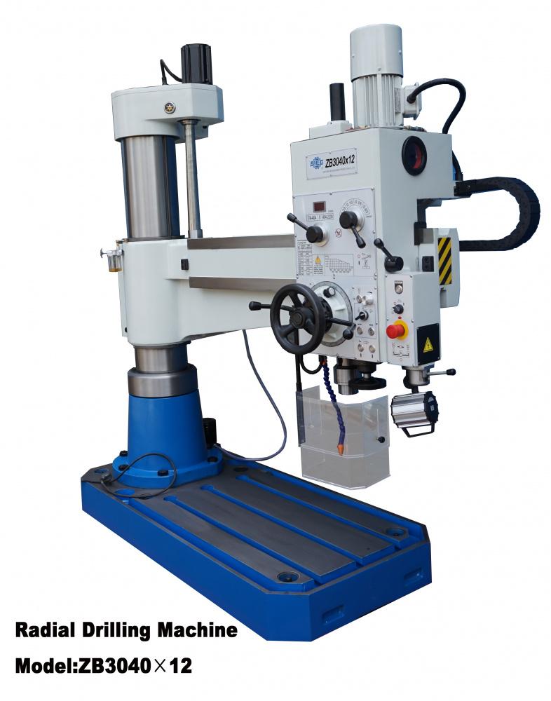 Radial drilling machine ZB3040x12 - LTS Maskin AS